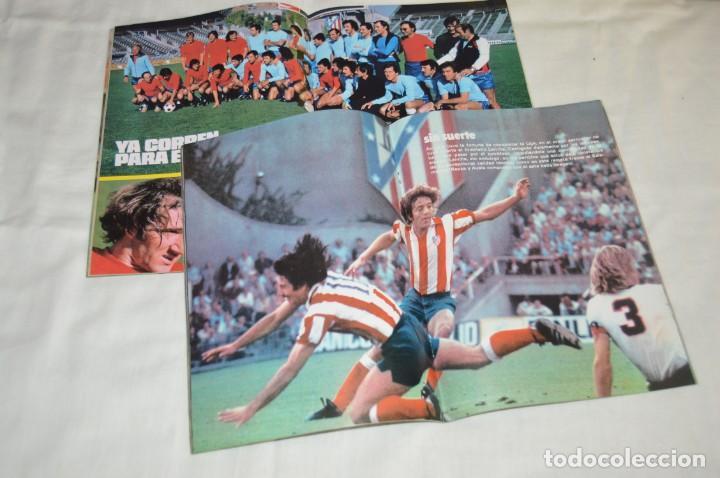 Coleccionismo deportivo: LOTE DE 2 REVISTAS DON BALÓN - AÑOS 70 - EXTRA JUNIO 77 Y Nº 155 - GRADESA - HAZ OFERTA - ENVÍO 24H - Foto 2 - 142240558