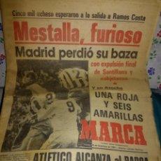 Coleccionismo deportivo: MESTALLA FURIOSO.. Lote 142267802