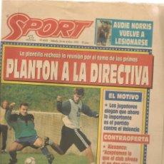 Coleccionismo deportivo: SPORT. Nº 4652. SÁBADO, 24 OCTUBRE 1992. (B/59). Lote 142433254