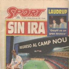 Coleccionismo deportivo: SPORT. Nº 5584. MIESCOLES, 24 MAYO 1995. (B/59). Lote 142433862
