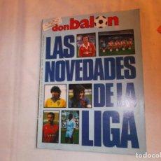 Coleccionismo deportivo: DON BALON Nº 563, LAS NOVEDADES DE LA LIGA,1986. Lote 142520518