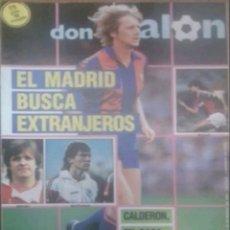 Coleccionismo deportivo: REVISTA N°596 DON BALÓN 1987. Lote 142741205