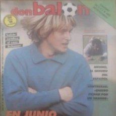 Coleccionismo deportivo: REVISTA N°583 DON BALÓN 1986. Lote 142742032