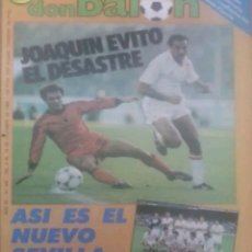 Coleccionismo deportivo: REVISTA N°582 DON BALÓN 1986. Lote 142760764
