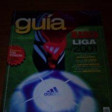 Coleccionismo deportivo: GUÍA MARCA LIGA 2001. 01.- B15R. Lote 142794486