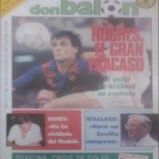 Coleccionismo deportivo: REVISTA N°586 DON BALÓN 1987. Lote 142800436