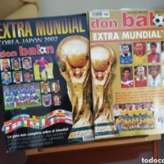 Coleccionismo deportivo: DON BALON MUNDIAL 98 Y 2002. Lote 142828350