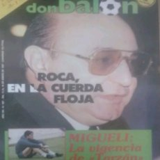 Coleccionismo deportivo: REVISTA N°587 DON BALÓN 1987. Lote 142841654