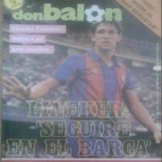 Coleccionismo deportivo: REVISTA N°598 DON BALÓN 1987. Lote 142841988