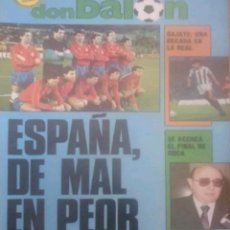 Coleccionismo deportivo: REVISTA N°593 DON BALÓN 1987. Lote 142842124