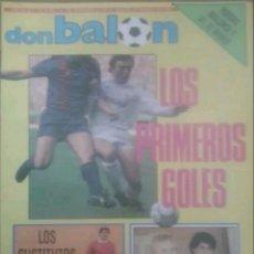 Coleccionismo deportivo: REVISTA N°620 DON BALÓN 1987. Lote 142843657