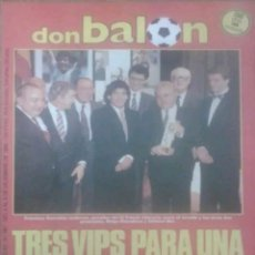 Coleccionismo deportivo: REVISTA N°581 DON BALÓN 1986. Lote 142850862