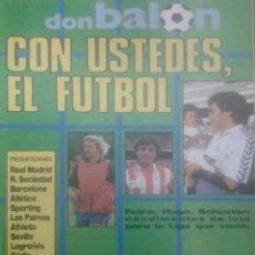 Coleccionismo deportivo: REVISTA N°616 DON BALÓN 1987. Lote 142853225