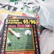 Coleccionismo deportivo: DON BALON TODOFÚTBOL 95 96. EXTRA RESUMEN.. Lote 142882161