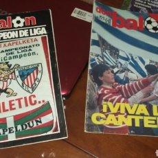 Coleccionismo deportivo: DON BALON HISTÓRICOS. HAZAÑAS DE LOS GRANDES FÚTBOL ESPAÑOL.. Lote 142934653