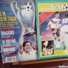 Coleccionismo deportivo: DON BALON ITALIA 90. 2 EXTRAS SOBRE EL MUNDIAL.. Lote 142934882