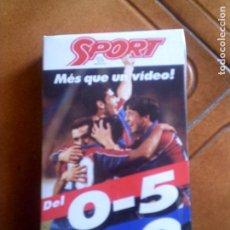 Coleccionismo deportivo: VIDEO DEL DIARIO SPORT DEL BARÇA. Lote 142951794