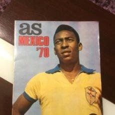 Coleccionismo deportivo: ANTIGUO PERIÓDICO AS MÉXICO 70 EXTRAORDINARIO. Lote 142995278