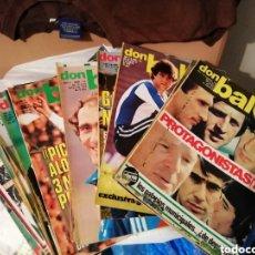 Coleccionismo deportivo: DON BALON ANTIGUO. ESPECIAL PROTAGONISTAS 1978. RESUMEN HISTÓRICO.. Lote 143017718