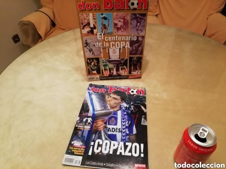 DON BALON. LOTE COPA REY 2002. CENTENARIO Y SUPERCOPAZO. (Coleccionismo Deportivo - Revistas y Periódicos - Don Balón)