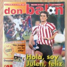 Coleccionismo deportivo: DB DON BALON 1159 JULEN GUERRERO 1997 1998. Lote 143046626