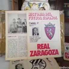 Coleccionismo deportivo: DON BALON HISTORIA FÚTBOL ESPAÑOL. REAL ZARAGOZA.. Lote 143280661