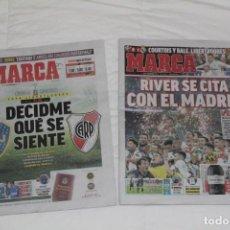 Coleccionismo deportivo: DIARIO MARCA. FINAL COPA LIBERTADORES DE AMÉRICA 2018. RIVER PLATE - BOCA JUNIORS. Lote 143410214