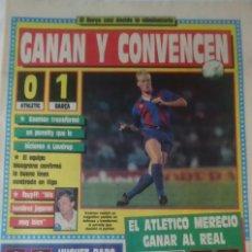Coleccionismo deportivo: DIARIO SPORT. 09-11-1989. COPA DEL REY ATH. BILBAO 0 BARCELONA 1. Lote 143546362
