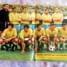 Coleccionismo deportivo: UNION DEPORTIVA LAS PALMAS 71-72 POSTER Nº25,AS COLOR BUEN ESTADO. Lote 143710430