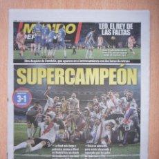 Coleccionismo deportivo: PERIODICO MUNDO DEPORTIVO NUEVO RIVER PLATE CAMPEON LIBERTADORES TEMPORADA 2018 18. Lote 143857478