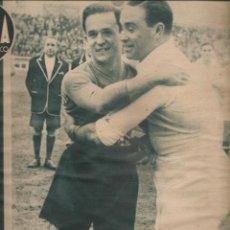 Coleccionismo deportivo: 3083. MARCA 29 FEBRERO 1944. PARTIDO HOMENAJE A JOSE RAMON SAUTO (REAL MADRID-SEVILLA). Lote 143919006