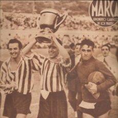 Coleccionismo deportivo: 3087. MARCA 27 JUNIO 1944. ATLETICO DE BILBAO CAMPEON DE LA COPA DEL GENERALISIMO. VALENCIA. Lote 143920174