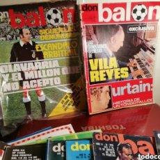 Coleccionismo deportivo: DON BALON NÚMEROS 10 Y 25... AÑO 1975. ANTIGUOS.. Lote 144341948