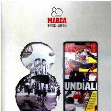 Coleccionismo deportivo: REVISTA MARCA ESPECIAL 80 ANIVERSARIO 138 PAGINAS 1938-2018. Lote 179097840