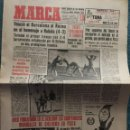 Coleccionismo deportivo: MARCA 31-8-1961 HOMENAJE A KUBALA BARCELONA, 4 - STADE REIMS, 3. Lote 144556278