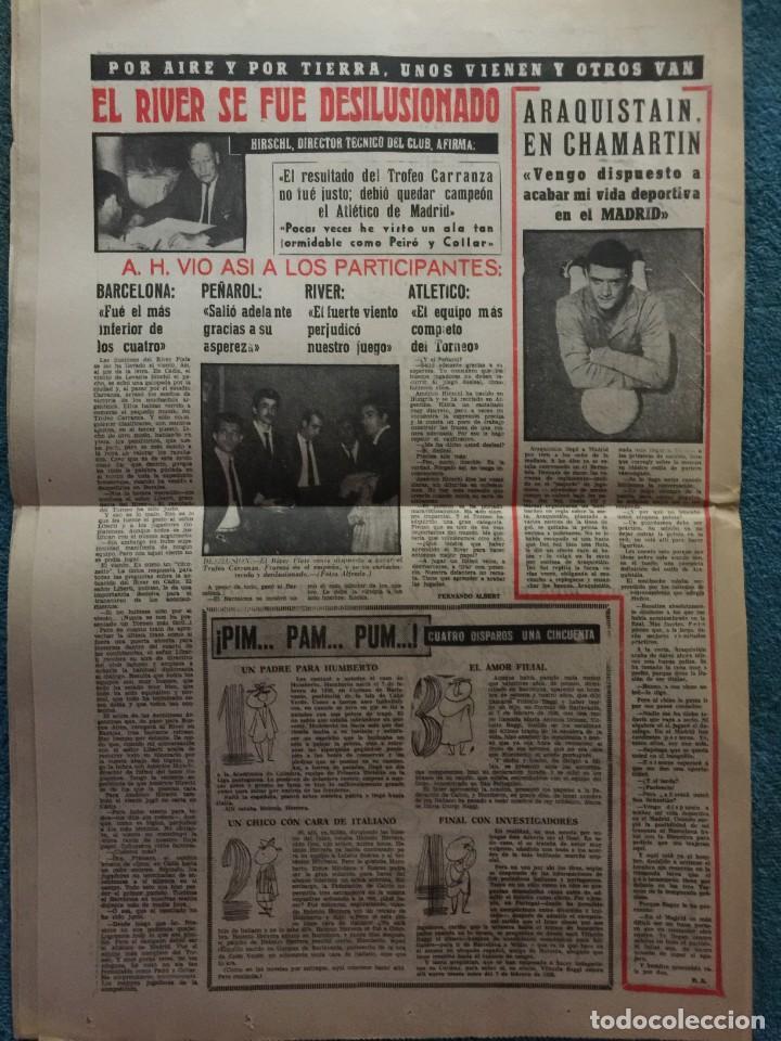 Coleccionismo deportivo: MARCA 31-8-1961 HOMENAJE A KUBALA BARCELONA, 4 - STADE REIMS, 3 - Foto 5 - 144556278
