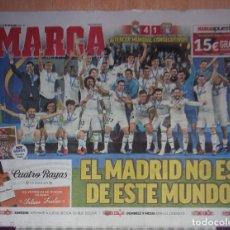 Coleccionismo deportivo: PERIODICO MARCA NUEVO REAL MADRID CAMPEON MUNDIAL DE CLUBES TEMPORADA 2018 2019 18 19. Lote 152845825