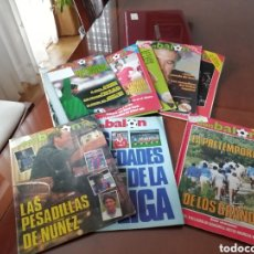 Coleccionismo deportivo: REVISTA DON BALON. EXCELENTE LOTE 1979 AL 1986...UNAS 50 REVISTAS. Lote 145023140
