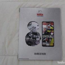Coleccionismo deportivo: DIARIO MARCA.GUÍA ESPECIAL 80 AÑOS DE PASIÓN. 1938 -2018. Lote 145063118