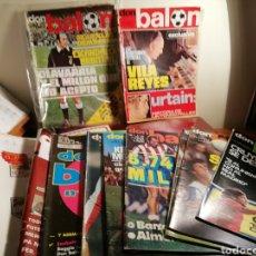 Coleccionismo deportivo: REVISTAS DON BALON. LOTE DEL 49 AL 60. 7 REVISTAS AÑO 1976. Lote 145250180