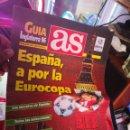 Coleccionismo deportivo: PERIODICO DIARIO AS GUIA INGLATERRA 96 EUROCOPA 1996 EURO ENGLAND. Lote 145255394