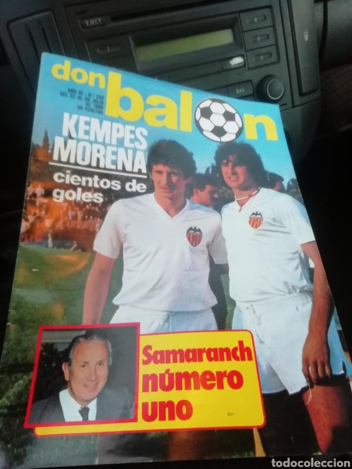 REVISTA DON BALON NÚM 250. 1980 (Coleccionismo Deportivo - Revistas y Periódicos - Don Balón)