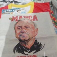 Coleccionismo deportivo: ESPECIAL JOHAN CRUYFF. PERIÓDICO MARCA 2016. FALLECIÓ.. Lote 145380050