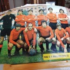 Coleccionismo deportivo: AS COLOR. 9 POSTERS 1971- 72. FORMATO GRANDE. RELIQUIA.. Lote 177962605
