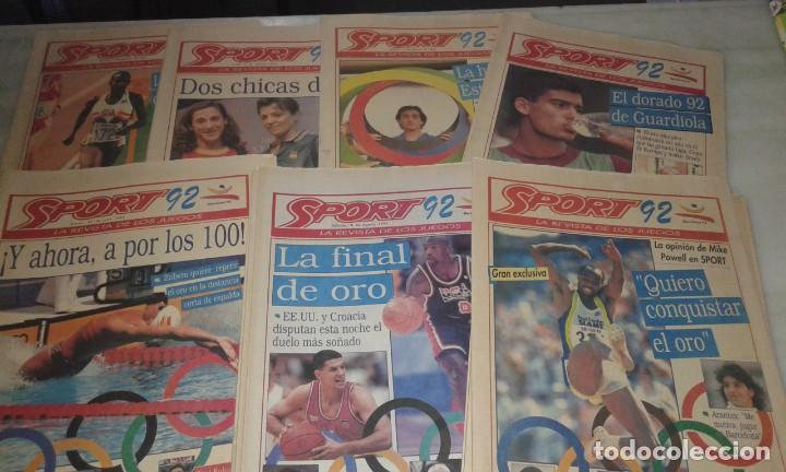 DIARIO SPORT JUEGOS OLÍMPICOS '92 (Coleccionismo Deportivo - Revistas y Periódicos - Sport)