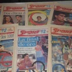 Coleccionismo deportivo: DIARIO SPORT JUEGOS OLÍMPICOS '92. Lote 145510798