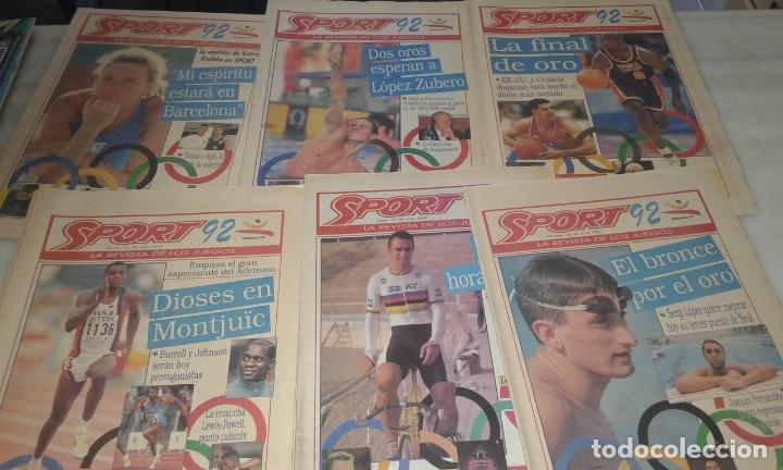 Coleccionismo deportivo: Diario Sport juegos Olímpicos 92 - Foto 2 - 145510798