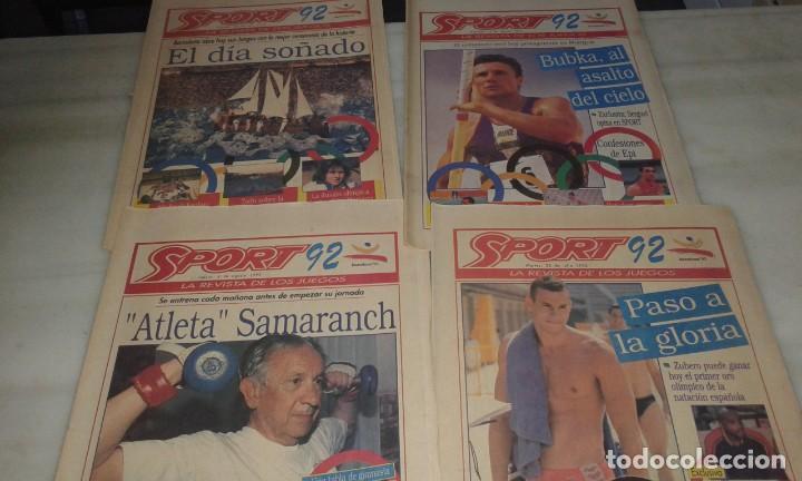 Coleccionismo deportivo: Diario Sport juegos Olímpicos 92 - Foto 3 - 145510798