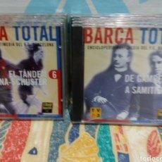 Coleccionismo deportivo: BARÇA TOTAL ENCICLOPEDIA MULTIMEDIA DEL FC BARCELONA. Lote 145536302