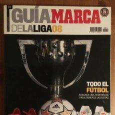 Colecionismo desportivo: GUÍA DE LA LIGA MARCA 2008. Lote 145926022